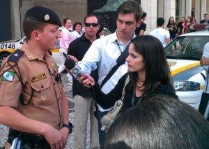 Police Media Interview