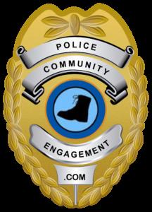 Police community engagement - Badge