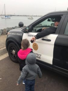 Police with Kids - Community Engagement