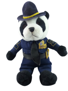 Police stuffed toy - Police community engagement